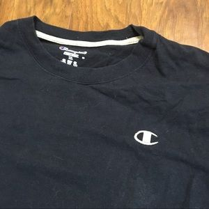 Dark Blue Champion tee